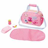 Zapf Creation Bolso para pañales de muñecas Baby Born rosa