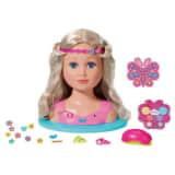 Zapf Creation Tête à coiffer de poupée Baby Born Sister 27 cm