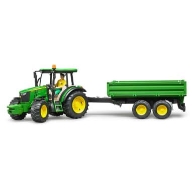 Bruder Tractor con remolque John Deere 5115M 1:16 02108[1/5]