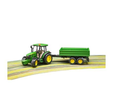 Bruder Tractor con remolque John Deere 5115M 1:16 02108[5/5]