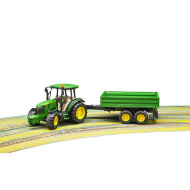 Bruder Tractor con remolque John Deere 5115M 1:16 02108[2/5]