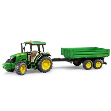 Bruder Tractor con remolque John Deere 5115M 1:16 02108[3/5]