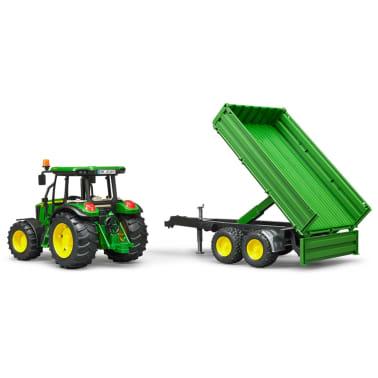 Bruder Tractor con remolque John Deere 5115M 1:16 02108[4/5]