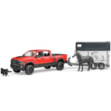 Bruder Dodge Power Wagon med hästtransport RAM 2500 1:16 02501