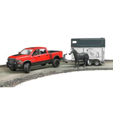 Bruder Dodge Power Wagon avec remorque pour chevaux RAM 2500 1:16[3/4]