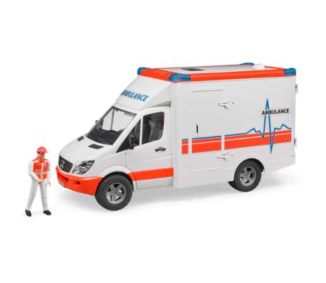 Bruder Ambulancia con conductor Mercedes-Benz Sprinter 1:16 02534[1/6]