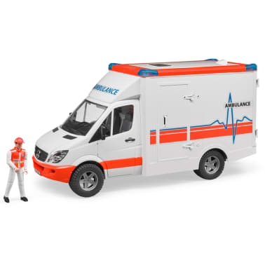 Bruder Ambulancia con conductor Mercedes-Benz Sprinter 1:16 02534[1/6]