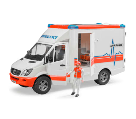 Bruder Ambulancia con conductor Mercedes-Benz Sprinter 1:16 02534[3/6]