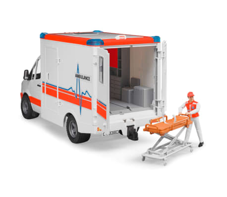 Bruder Ambulancia con conductor Mercedes-Benz Sprinter 1:16 02534[6/6]
