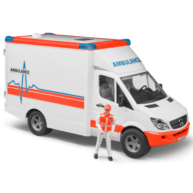 Bruder Ambulancia con conductor Mercedes-Benz Sprinter 1:16 02534[2/6]