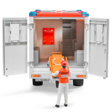 Bruder Ambulancia con conductor Mercedes-Benz Sprinter 1:16 02534[4/6]