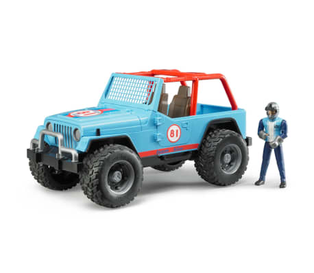 Bruder Todoterreno Land Rover+conductor Jeep Cross-country 1:16 02541[1/5]