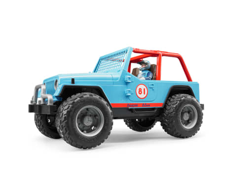 Bruder Todoterreno Land Rover+conductor Jeep Cross-country 1:16 02541[3/5]
