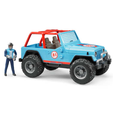 Bruder Todoterreno Land Rover+conductor Jeep Cross-country 1:16 02541[2/5]