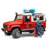 Bruder Todoterreno de bomberos Land Rover Defender 1:16 02596