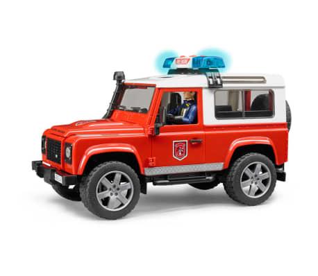 Bruder Todoterreno de bomberos Land Rover Defender 1:16 02596[3/6]