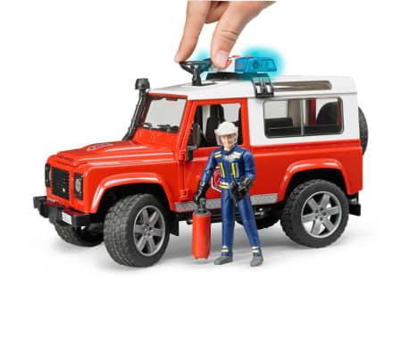 Bruder Todoterreno de bomberos Land Rover Defender 1:16 02596[5/6]