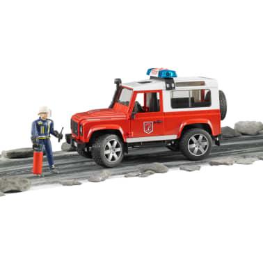 Bruder Todoterreno de bomberos Land Rover Defender 1:16 02596[4/6]