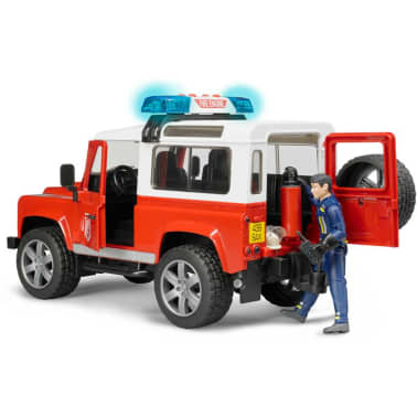Bruder Todoterreno de bomberos Land Rover Defender 1:16 02596[6/6]