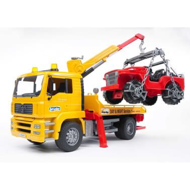 Bruder Camión de remolque con vehículo todoterreno MAN TGA 1:16 02750[2/9]