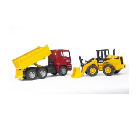 Bruder Camión volquete y cargador de ruedas MAN TGA 1:16 02752[2/4]