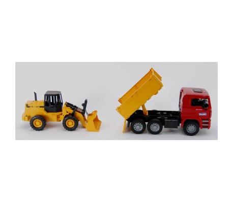 Bruder Camión volquete y cargador de ruedas MAN TGA 1:16 02752[4/4]