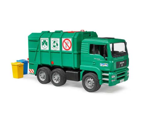 Bruder Camión de basura MAN TGA 1:16 02753[2/5]