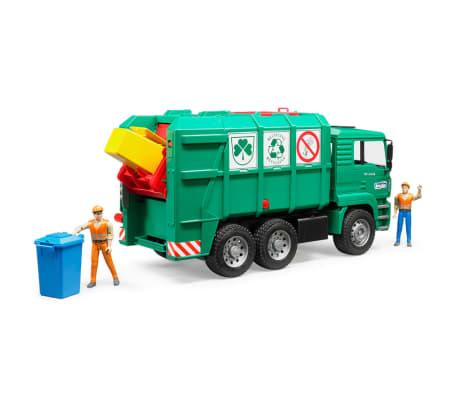 Bruder Camión de basura MAN TGA 1:16 02753[5/5]