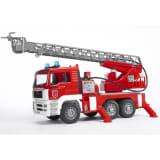 Bruder Camión de bomberos con escalera MAN TGA 1:16 02771