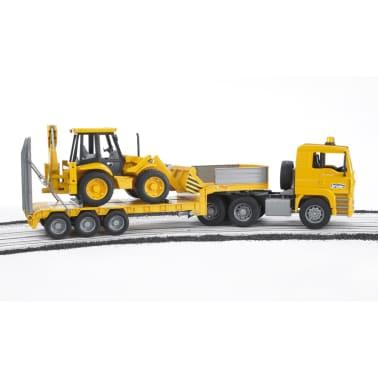 Bruder Camión con cargador bajo y excavadora MAN TGA 1:16 02776[3/6]