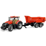 Bruder Tracteur avec remorque Case IH Optum 300 CVX 1:16