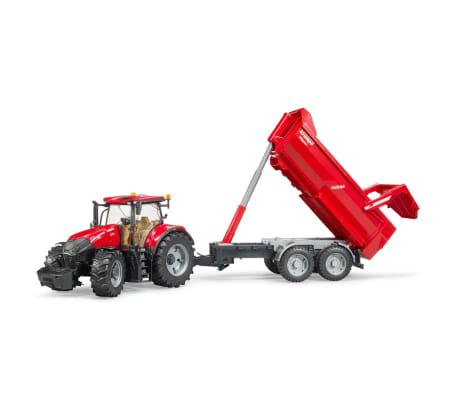 Bruder Tractor con remolque Case IH Optum 300 CVX 1:16 03199[2/5]