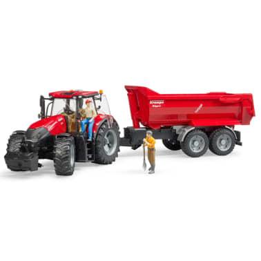 Bruder Tractor con remolque Case IH Optum 300 CVX 1:16 03199[3/5]