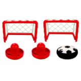 Air Hockey Fünfteiliges Airhockey-Set Innenbereich AIR002