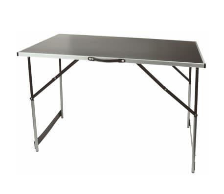 Br der mannesmann tavolo pieghevole 100x60x94 cm 70111 - Tavolo pieghevole con maniglia ...