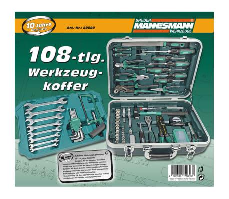 Brüder Mannesmann 108-teiliges Werkzeug-Set 29089[6/6]