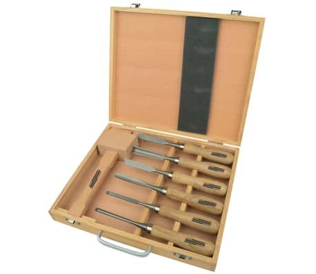 Brüder Mannesmann Medžio drožinėjimo įrankių rinkinys, 66107