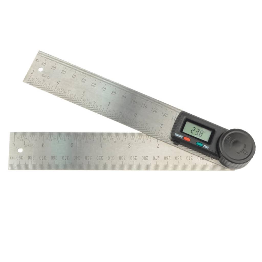Brüder Mannesmann Riglă digitală pentru unghiuri, 200 mm 81220
