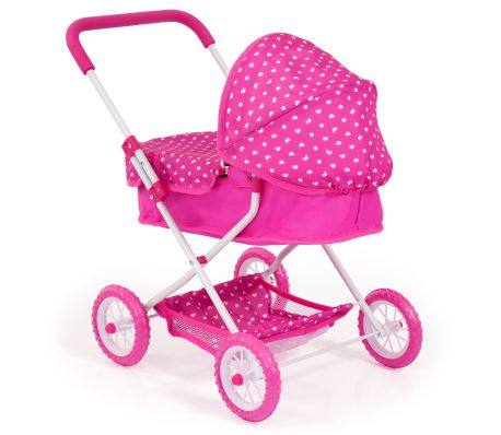 Bayer Cochecito de muñecas Smarty rosa 12268AA[3/3]