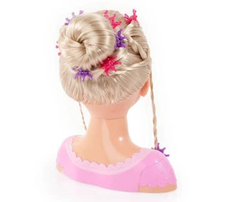 Bayer Głowa lalki do stylizacji Super Model Charlene, 27 cm, 90088AA[2/11]