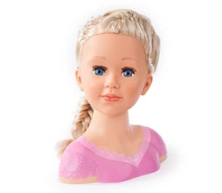 Bayer Głowa lalki do stylizacji Super Model Charlene, 27 cm, 90088AA[9/11]