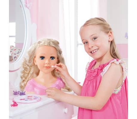 Bayer Głowa lalki do stylizacji Super Model Charlene, 27 cm, 90088AA[10/11]