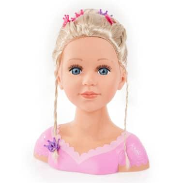 Bayer Głowa lalki do stylizacji Super Model Charlene, 27 cm, 90088AA[4/11]