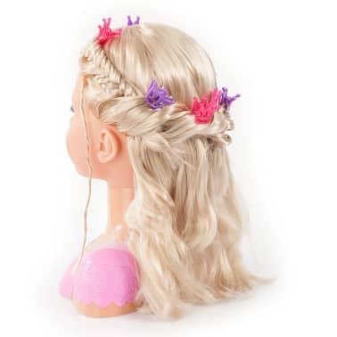 Bayer Głowa lalki do stylizacji Super Model Charlene, 27 cm, 90088AA[5/11]