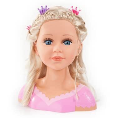 Bayer Głowa lalki do stylizacji Super Model Charlene, 27 cm, 90088AA[7/11]