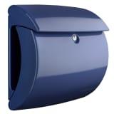 BURG-WÄCHTER Briefkasten Piano 886 MB Kunststoff Marineblau