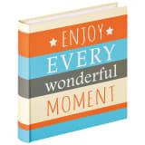 Walther Design Álbum de fotos Moments naranja 100 páginas 30x30 cm