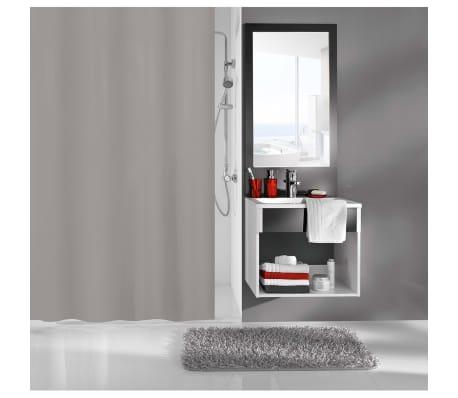 Kleine Wolke Douchegordijn Kito 180x200 cm grijs