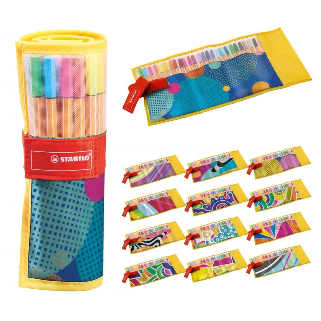 STABILO Fineliner Set in Beutel 25 verschiedenen Farben