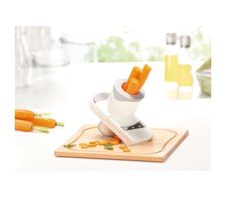 Leifheit mandolina de cocina comfort slicer gris 03106 for Mandolina cocina precio